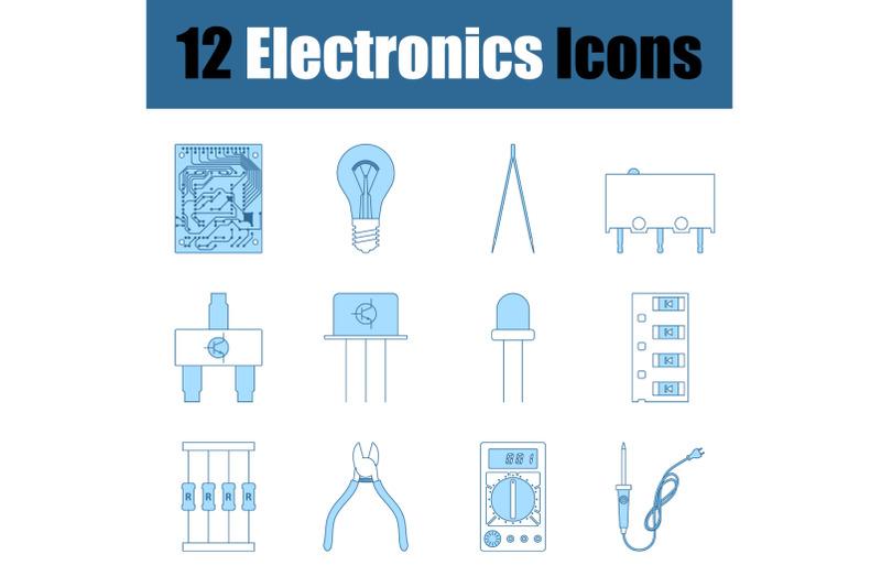 electronics-icon-set