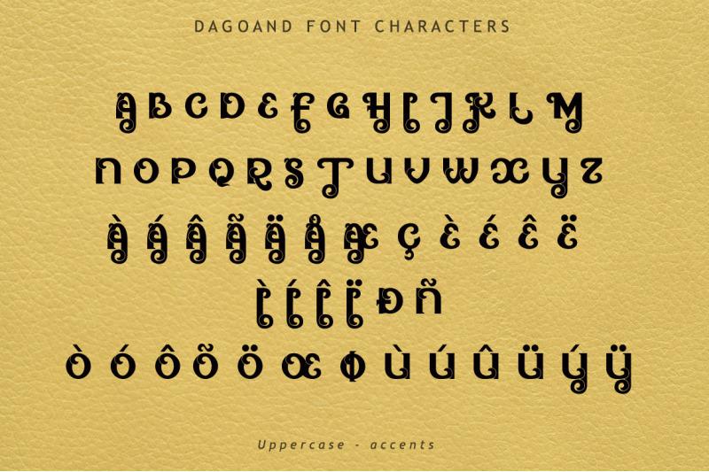 dagoand-font