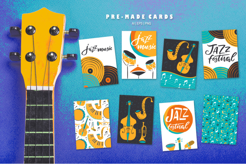 jazz-music-vector-collection