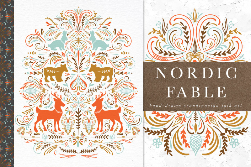 nordic-fable-scandinavian-folk-art-illustration-kit