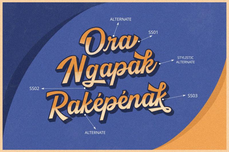 kingfisher-layered-font