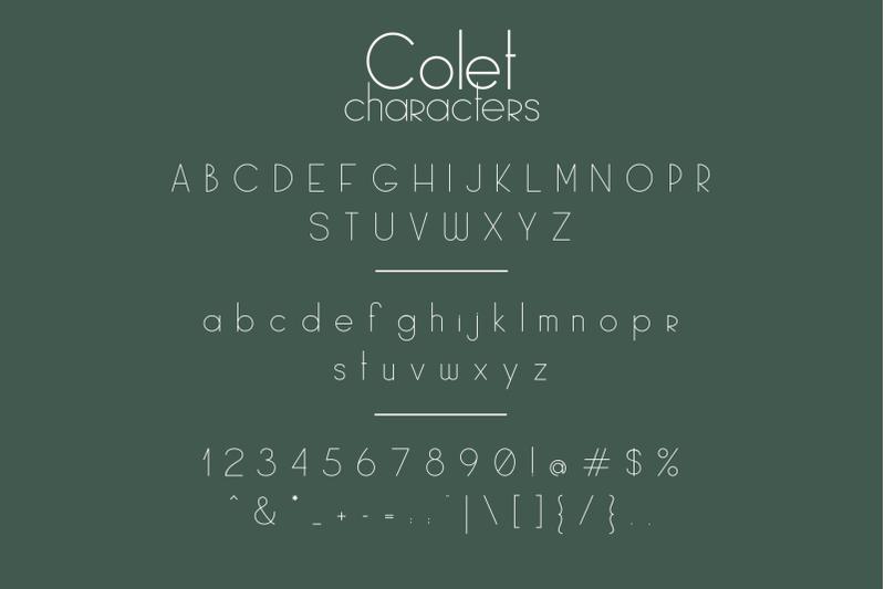 colet-a-simple-sans-serif