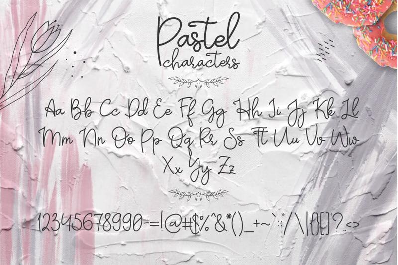 pastel-hand-written-font