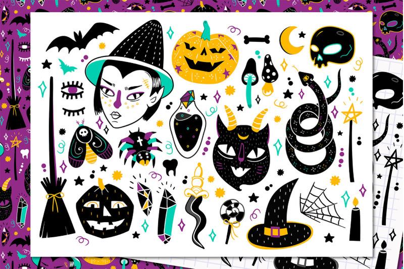 halloween-doodles
