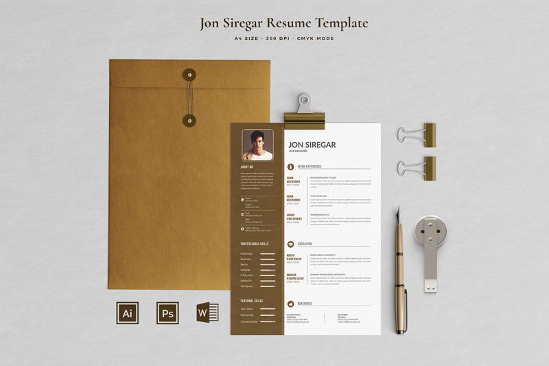 jon-resume-template