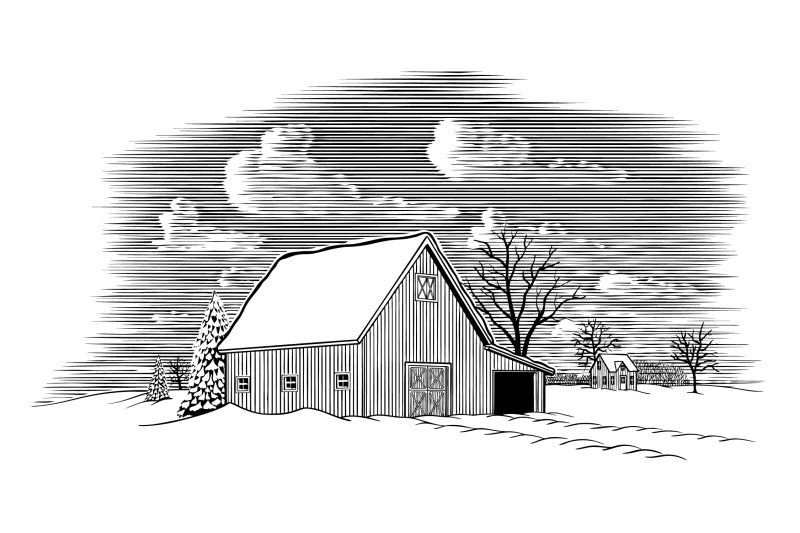 winter-barn-scene