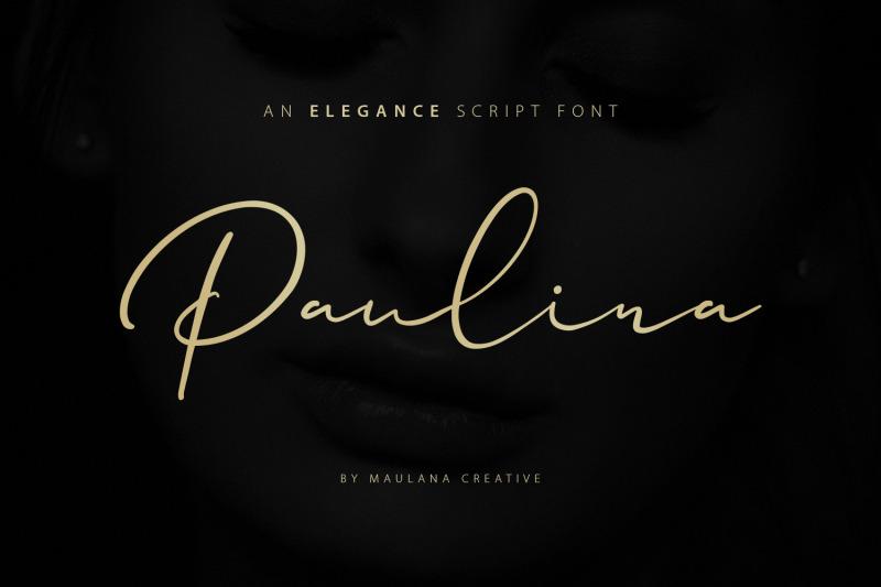 paulina-elegance-script-font