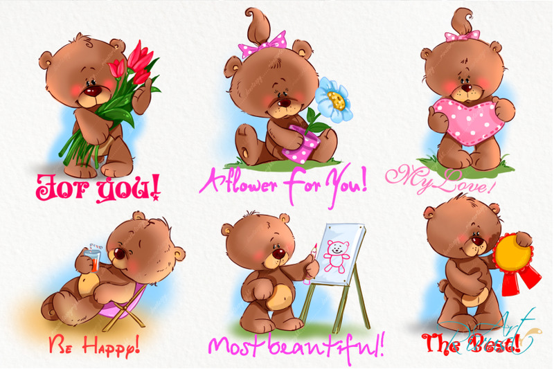 cute-little-teddy-bears-clipart-baby-animals-clip-art-greeting-card-m