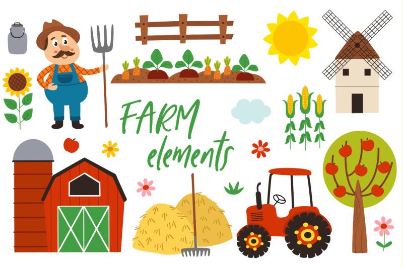 farm-animals-collection