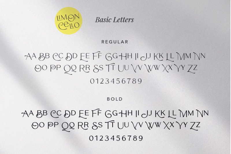 limoncello-playful-font