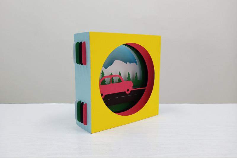 diy-car-tunnel-card-3d-papercraft