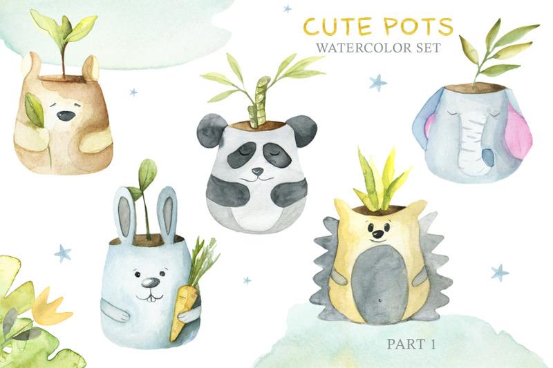 cute-pots-watercolor-set