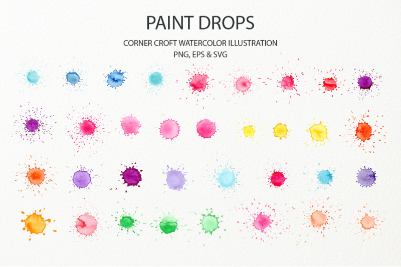 watercolor-paint-drop-and-paint-splatter-effect-for-instant-download-nbsp