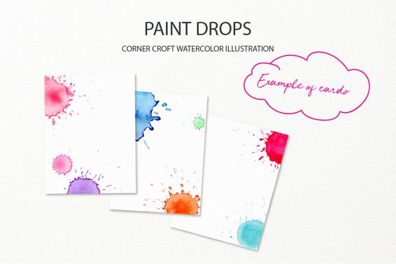 watercolor-paint-drop-and-paint-splatter-effect-for-instant-download-nbsp
