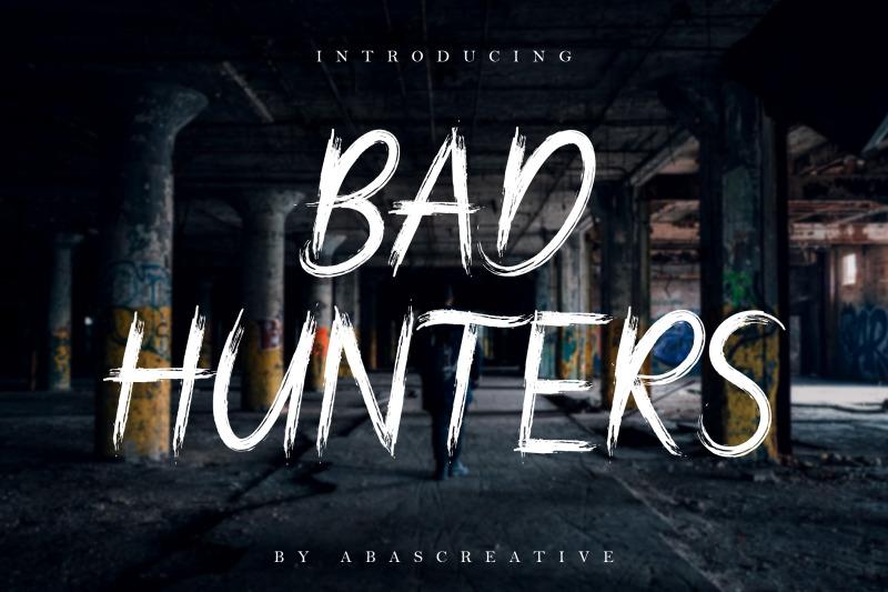 bad-hunters-font