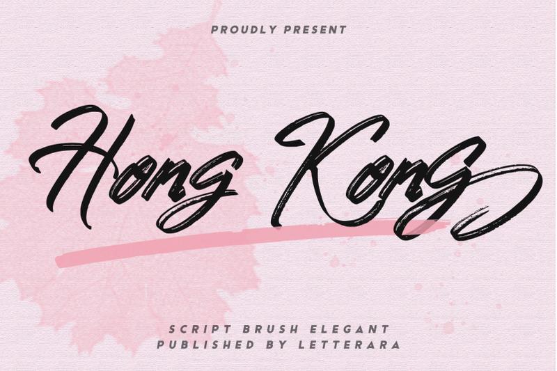 hongkong-script-brush