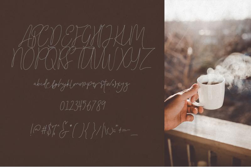 toast-bread-coffee-typeface