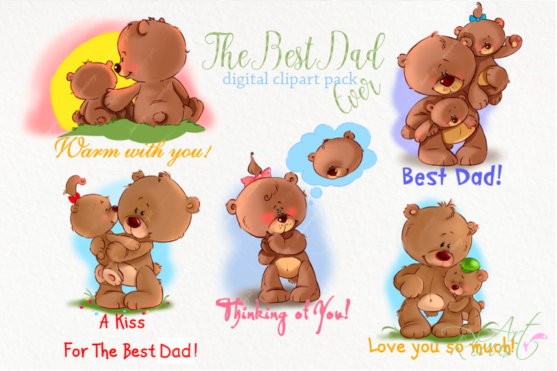 father-039-s-day-clip-art-teddy-bear-dad-and-son