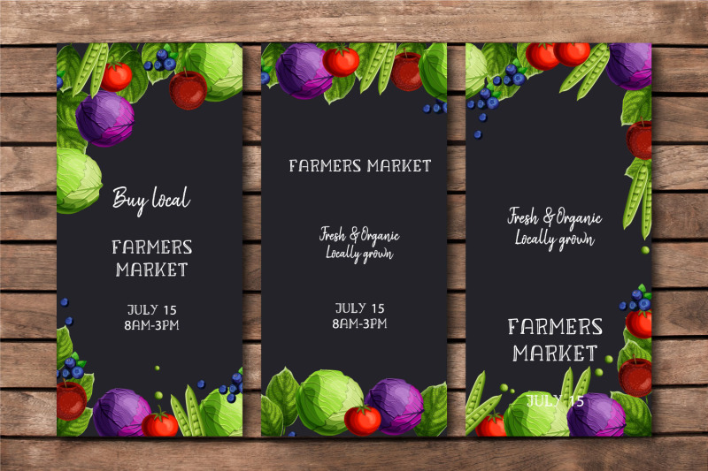 farmers-market-templates-set