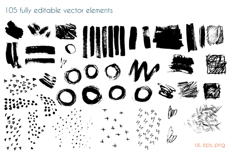 art-shapes-vector-collection