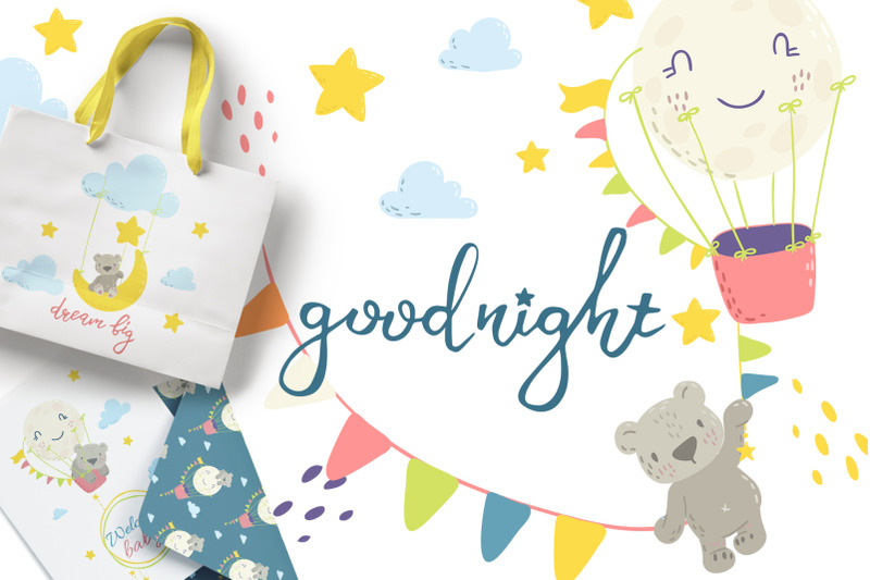 good-night-cute-bears-collection