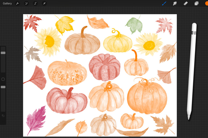 procreate-brush-set-watercolor-brushes-autumn-brushes