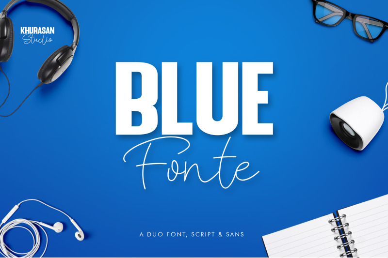 blue-fonte-font-duo