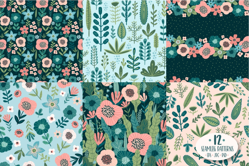 vector-floral-collection