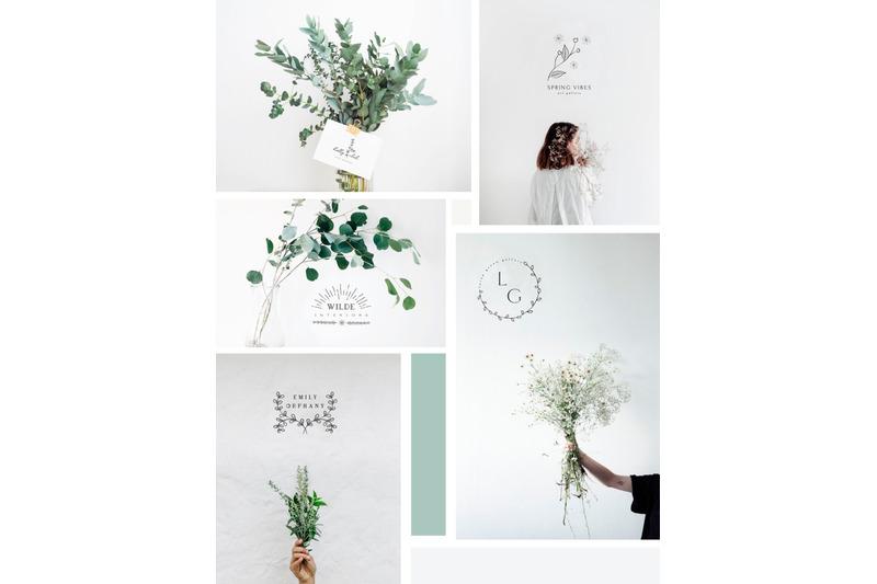 20-floral-logo-templates