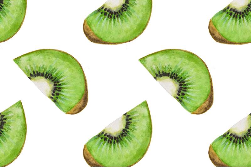 kiwi-fruit-pattern-watercolor