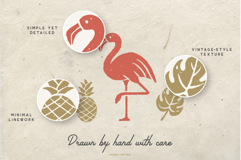 tropical-icons-hand-drawn-graphics