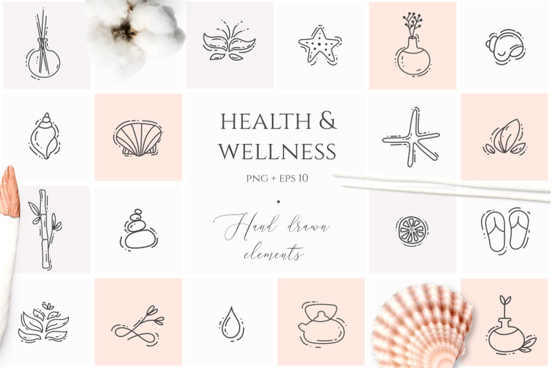 spa-amp-wellness-graphic-collection