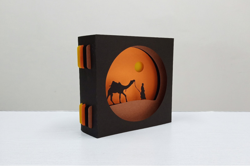 diy-camel-safari-card-3d-papercraft