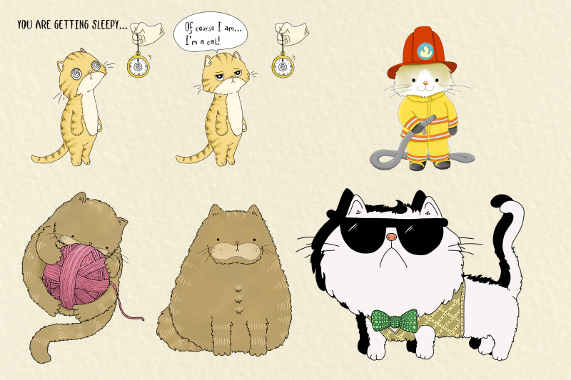 cats-20-assorted-png-clip-art-illustrations