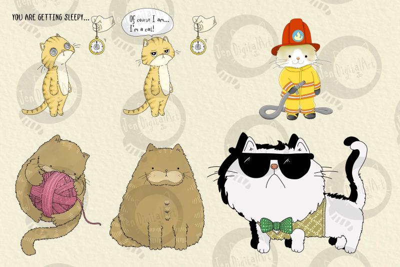 cats-20-assorted-png-clip-art-illustrations