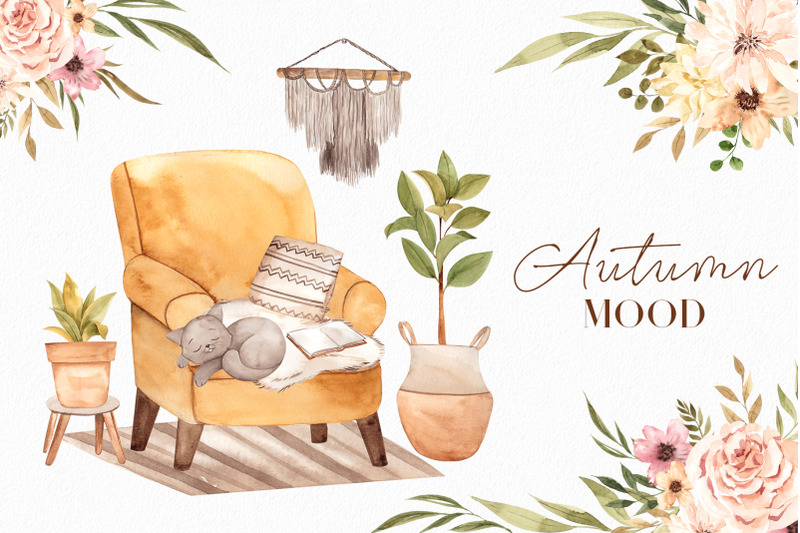 autumn-mood-watercolor-collection