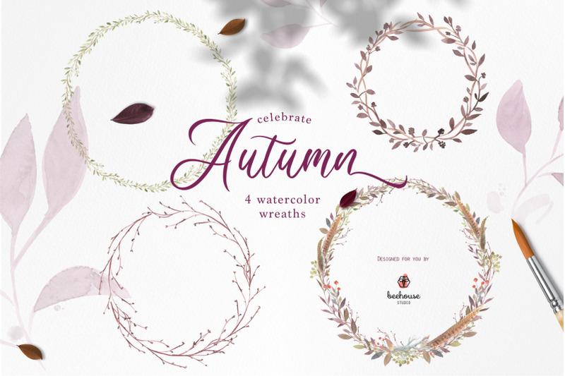 celebrate-autumn-watercolor-clip-art