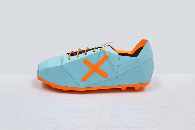 diy-soccer-shoe-3d-papercraft