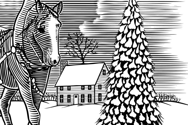 winter-horse-sleigh-scene