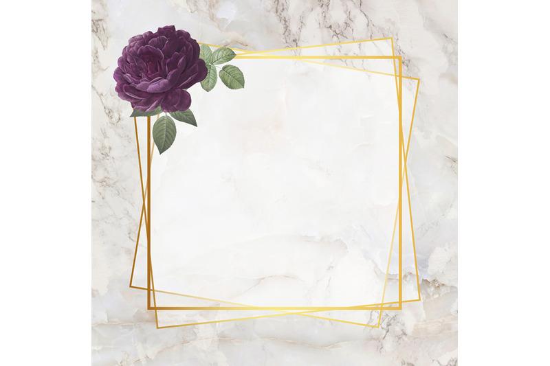 rose-marble-frame-nbsp-digital-paper