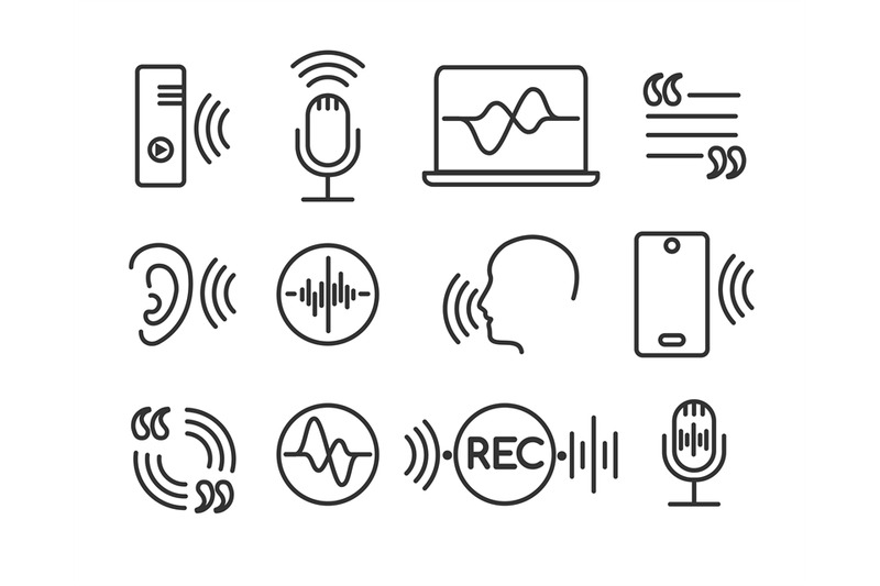 voice-recognition-icons