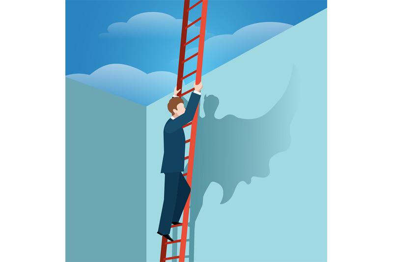 leader-running-up-stairway