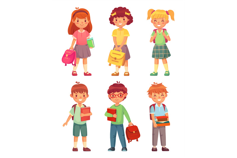 primary-school-kids-cartoon-children-pupils-with-backpack-and-books