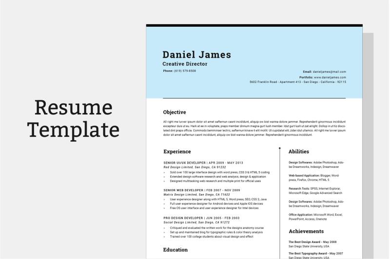 resume-template-cv-template