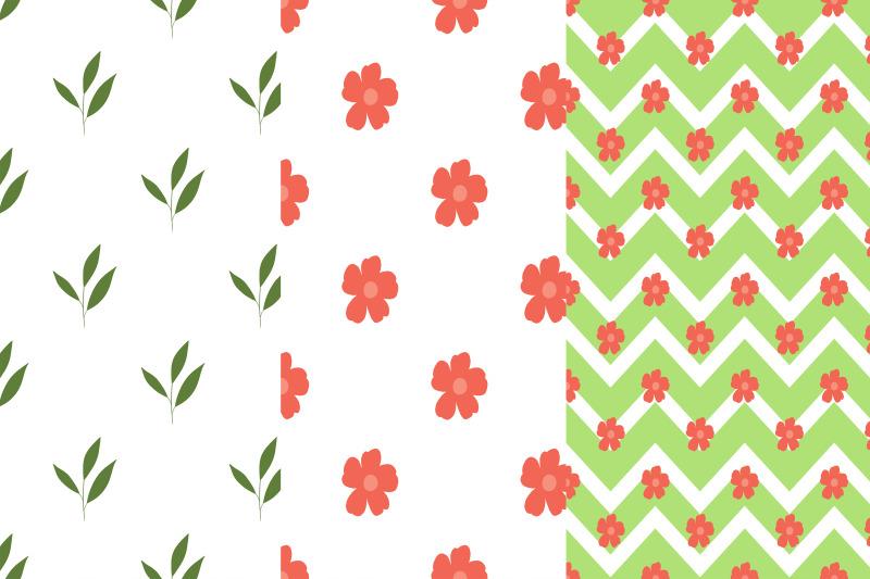 floral-digital-papers-floral-patterns