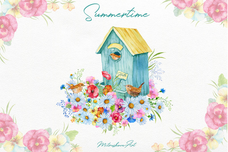 summertime-watercolor-clipart