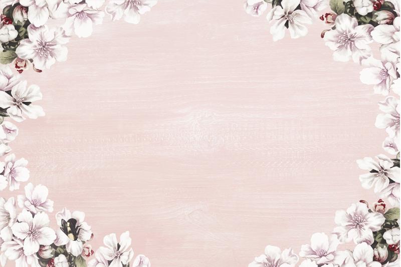 flowers-wood-digital-paper