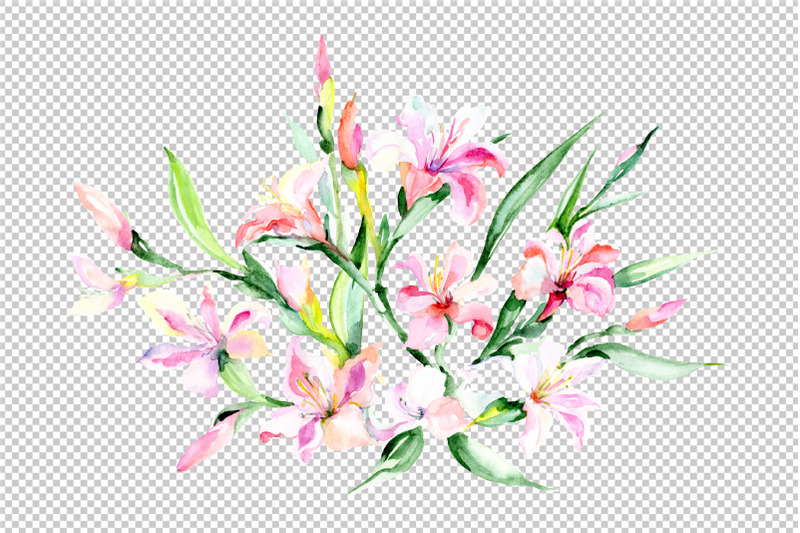 danielle-bouquet-watercolor-png