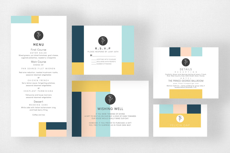 minimal-abstract-wedding-suite
