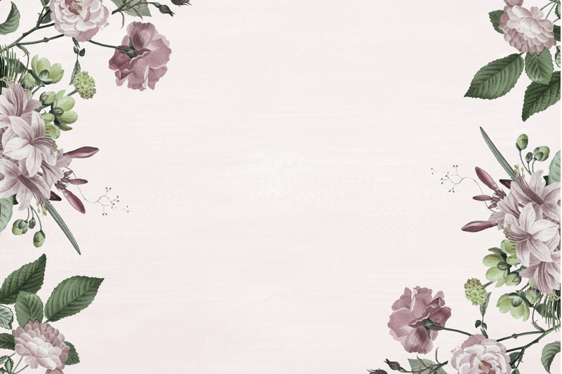 flowers-wood-christmas-digital-paper